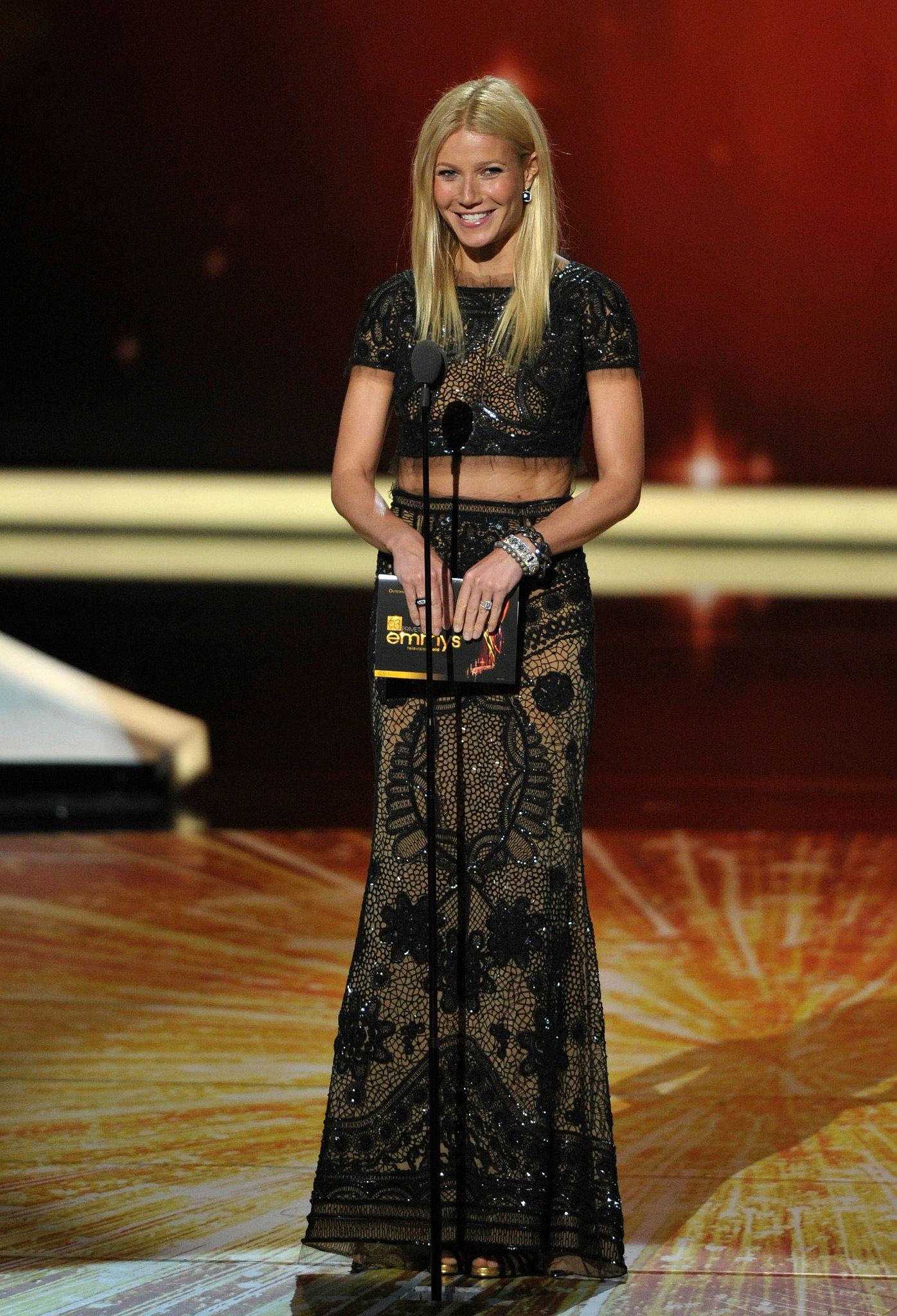 Gwyneth Paltrow presented an award in 2011.