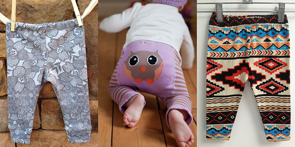 Prints, Please! 10 Pairs of Adorable Printed Leggings For Little Legs