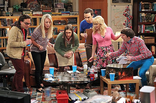 The show: The Big Bang Theory  The date: Host a game night   How else do you bond with your socially awkward apartment neighbors than by having fun over game night? Follow in Penny's footsteps and invite your favorite couples over for a group date night full of competition and cocktails.