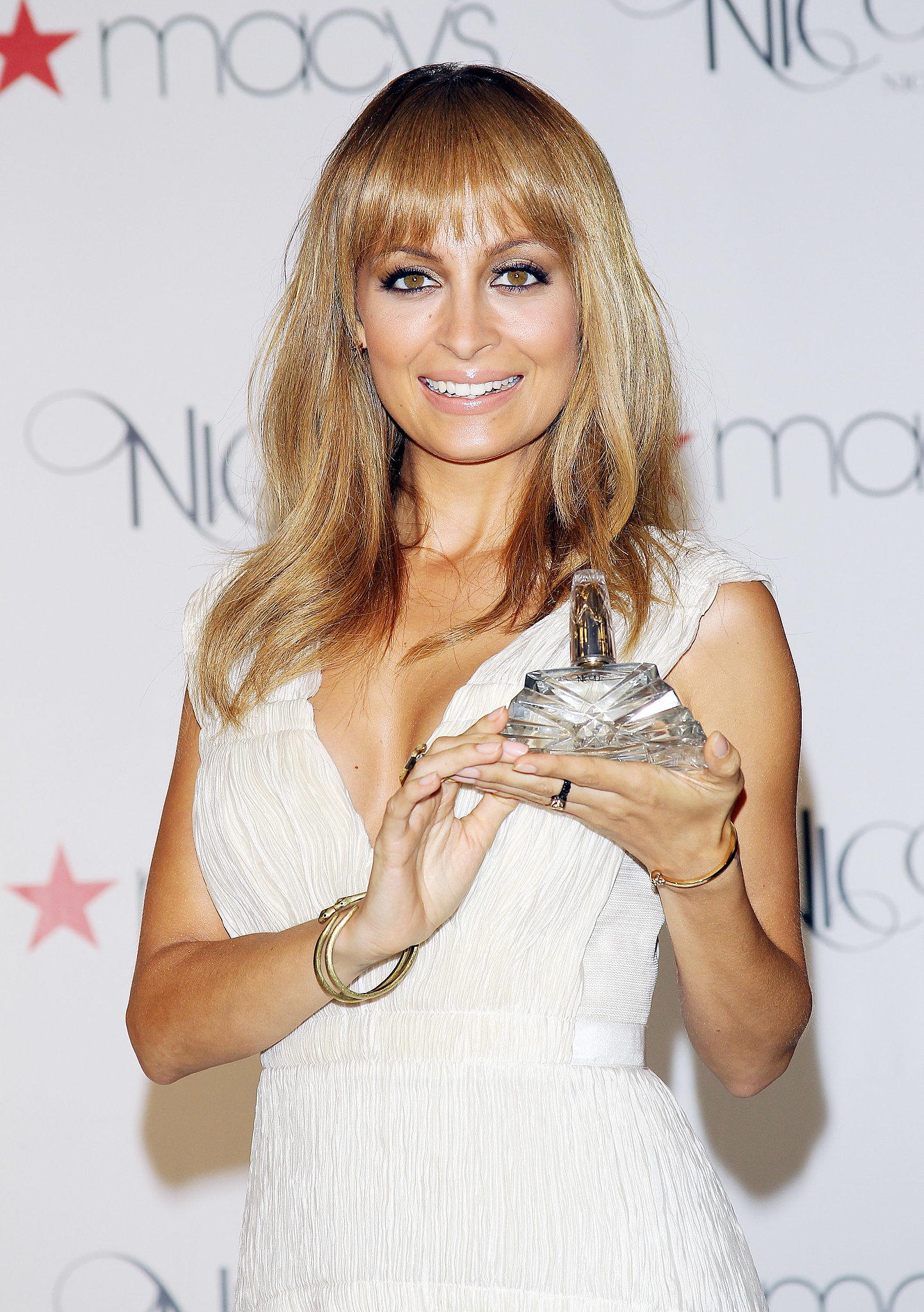 Nicole attended a launch event for her fragrance, Nicole, at