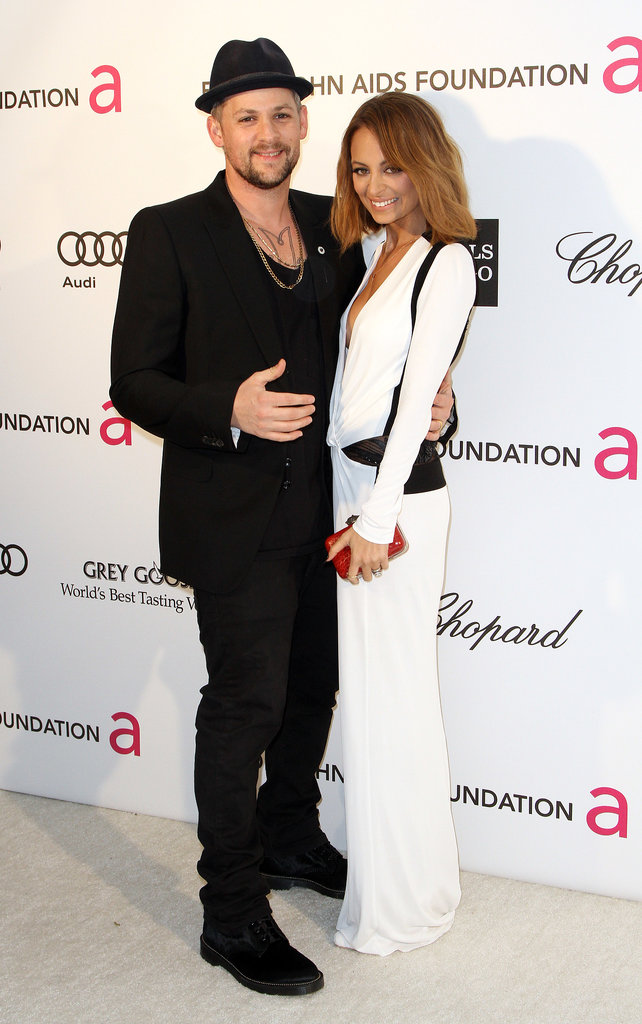 She and Joel were on hand for Elton John's annual Oscars viewing party in LA in February 2013.