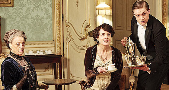 The show: Downton Abbey  The date: Sip tea at a tea room   There's no denying that the British love their tea and that it's at the heart of many memorable scenes of the show — even connecting servants and the elite. Use it to connect with your favorite guy or gal by heading to a cute tea room. Pinkies up!  Source: PBS