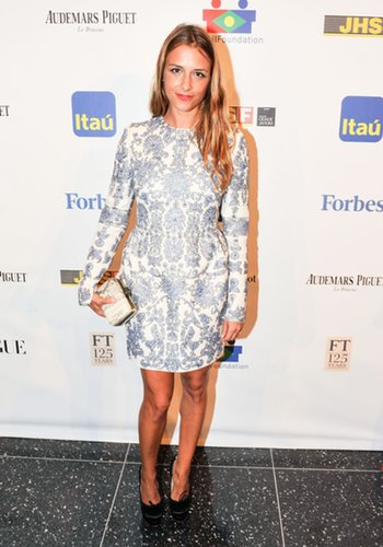 Charlotte Ronson stepped out for the Brazil Foundation event at MoMA.