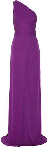 Issa Silk-crepe maxi dress