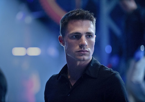 Arrow Colton Haynes on Arrow.