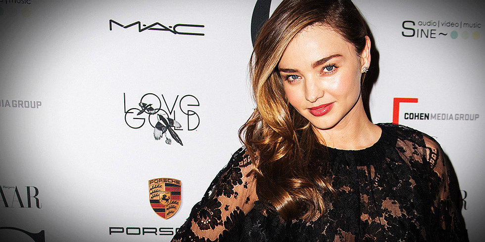 Miranda Kerr Talks About Working With Her Fashion Legend