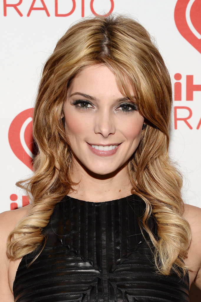While the blond hair isn't new, Ashley Greene showed off a much longer style at the iHeartRadio Music Festival in Las Vegas.