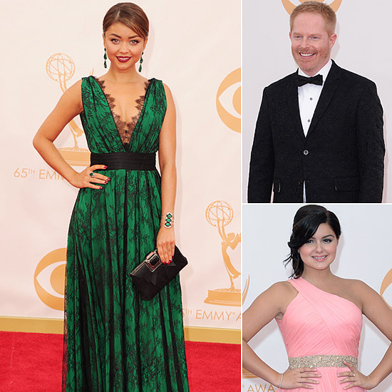 The Cast of Modern Family Hits the Emmys Red Carpet