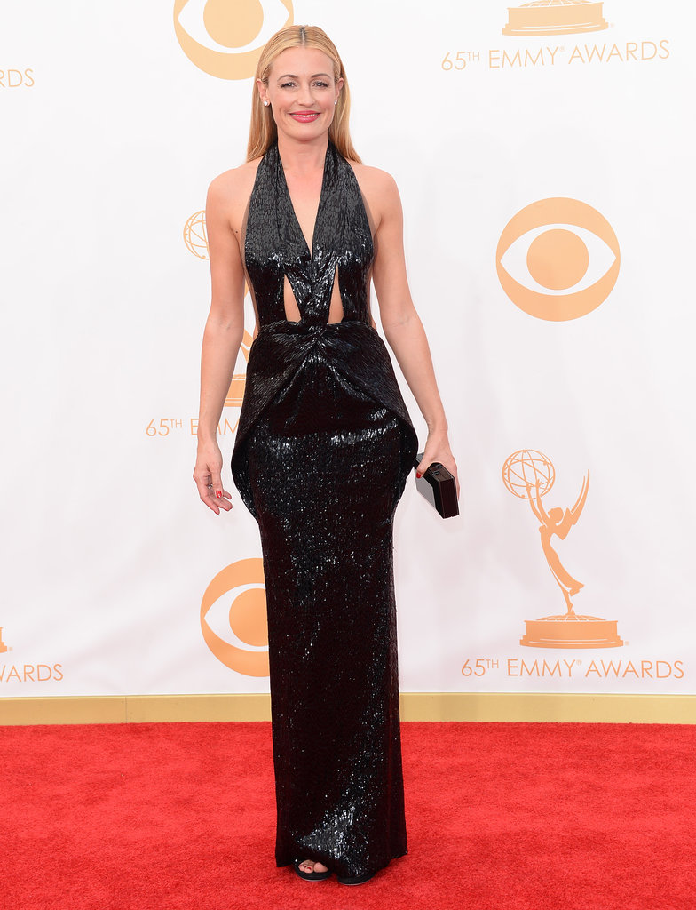 Cat Deeley stepped out for the 2013 Emmy Awards.