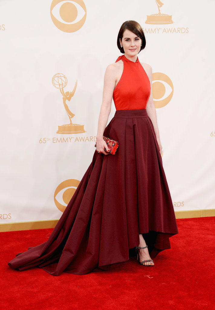 Michelle Dockery attended the 2013 Emmy Awards.