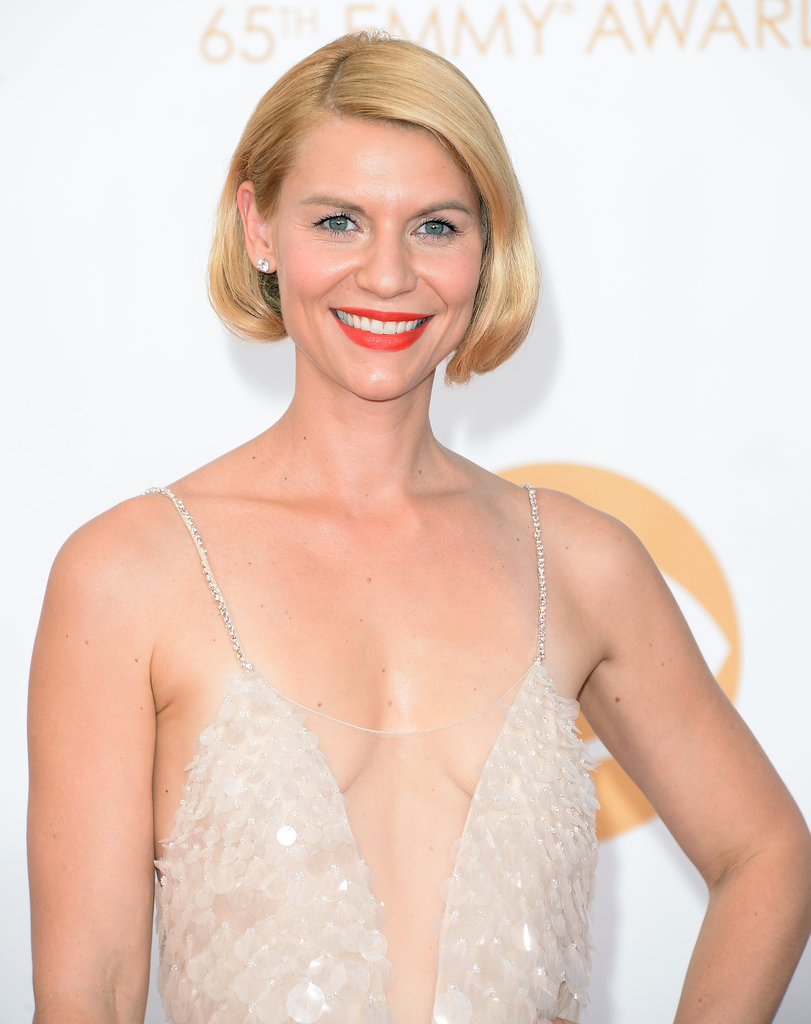 Claire Danes at the Emmy Awards