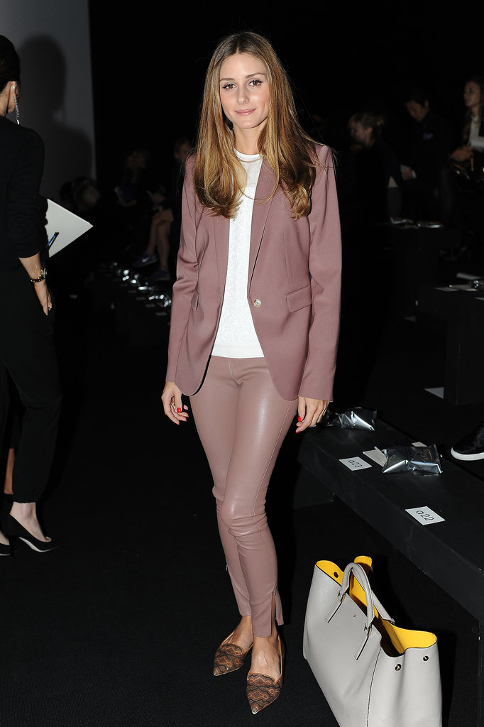 Olivia Palermo in The Row and Anya Hindmarch
