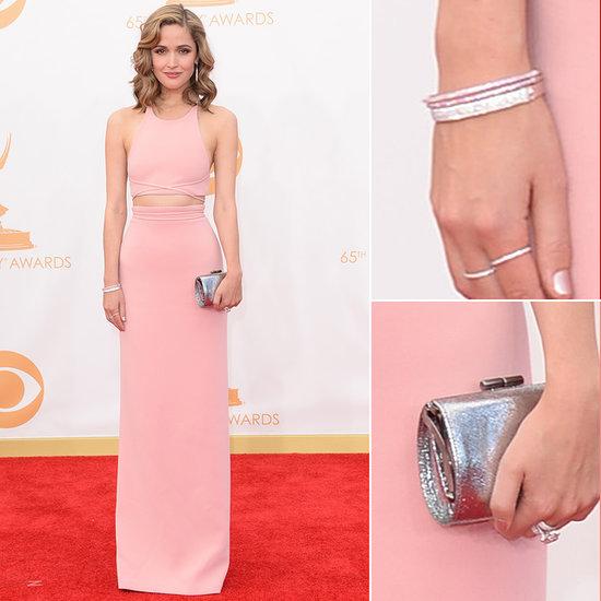 Rose Byrne Dress at Emmys 2013   Pictures