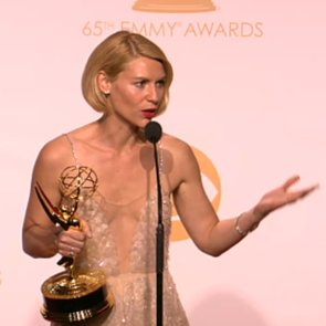 Claire Danes Emmys Backstage Interview   Video
