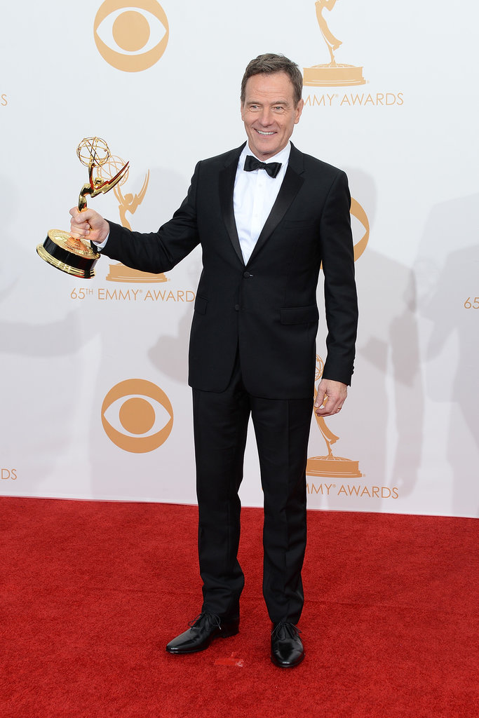 As a producer on the show, Bryan Cranston won his fourth Emmy for his work on Breaking Bad.