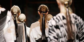 Missoni Gives Cat Eyeliner a New Spin For Spring