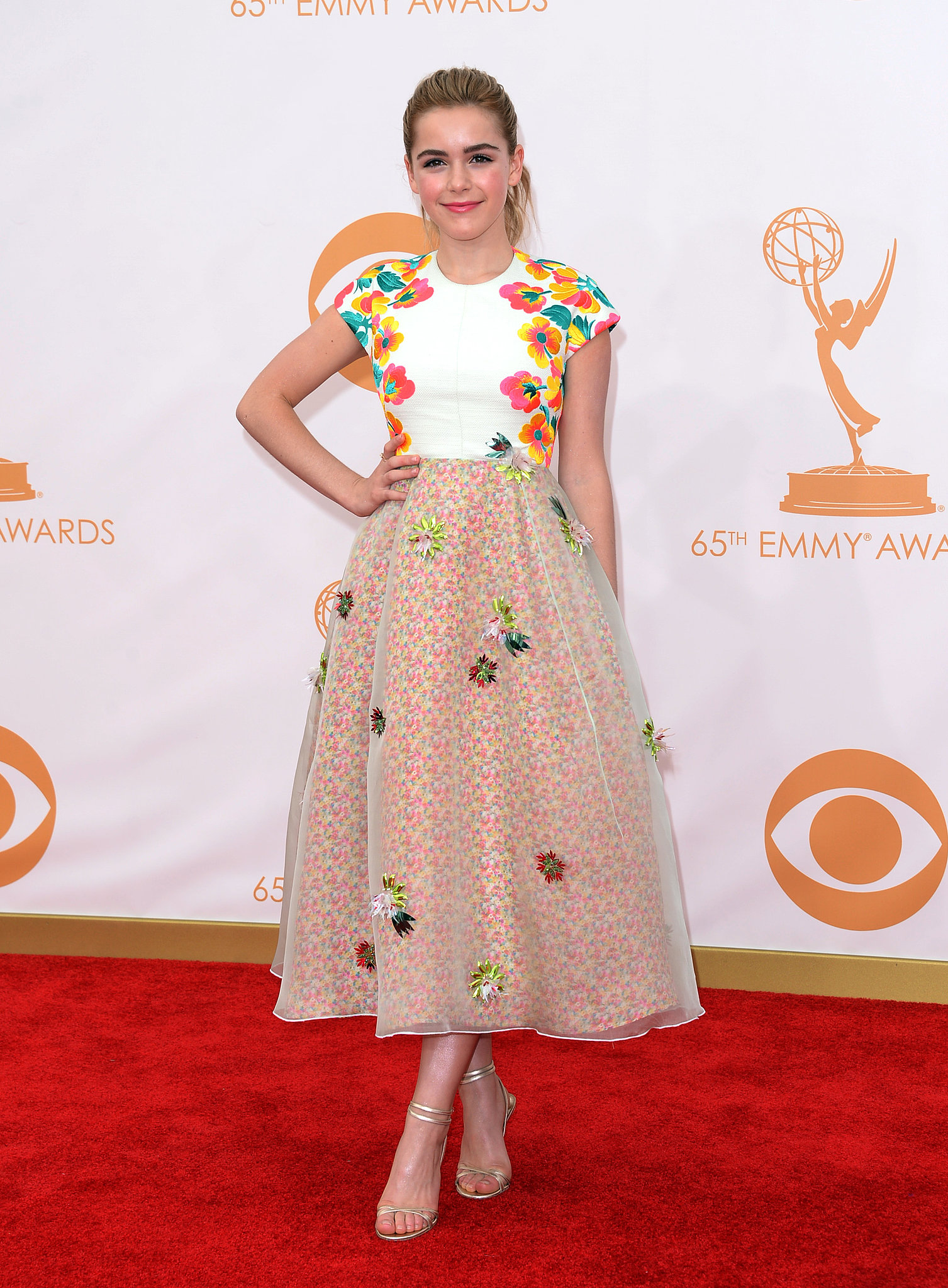 Kiernan Shipka attended the Emmy Awards.