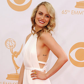 Taylor Schilling Pictures at 2013 Emmy Awards