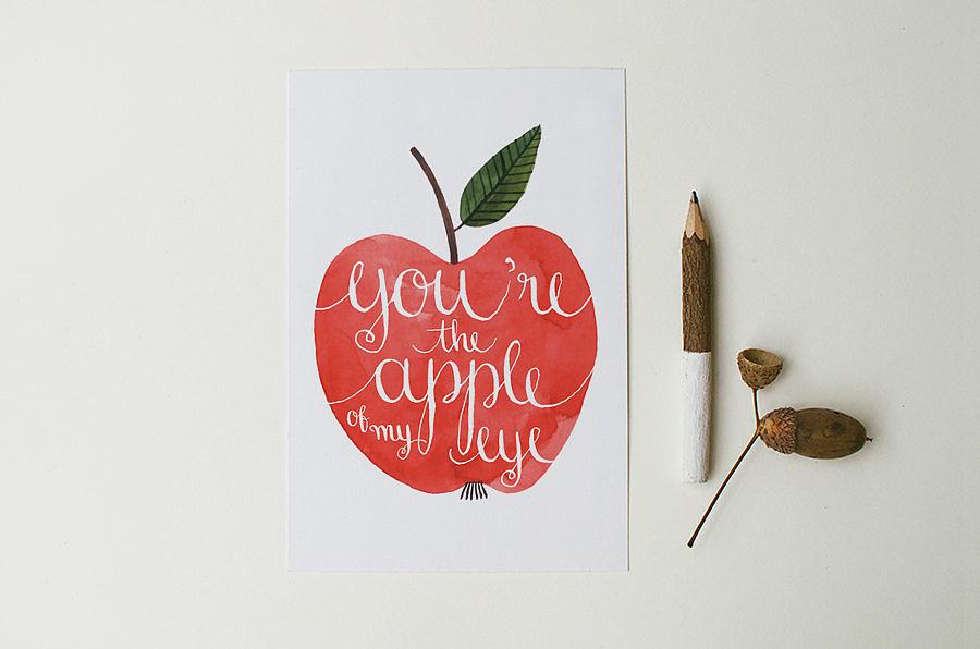 You\u002639;re the apple of my eye $3  Say, \u0026quot;I Love You