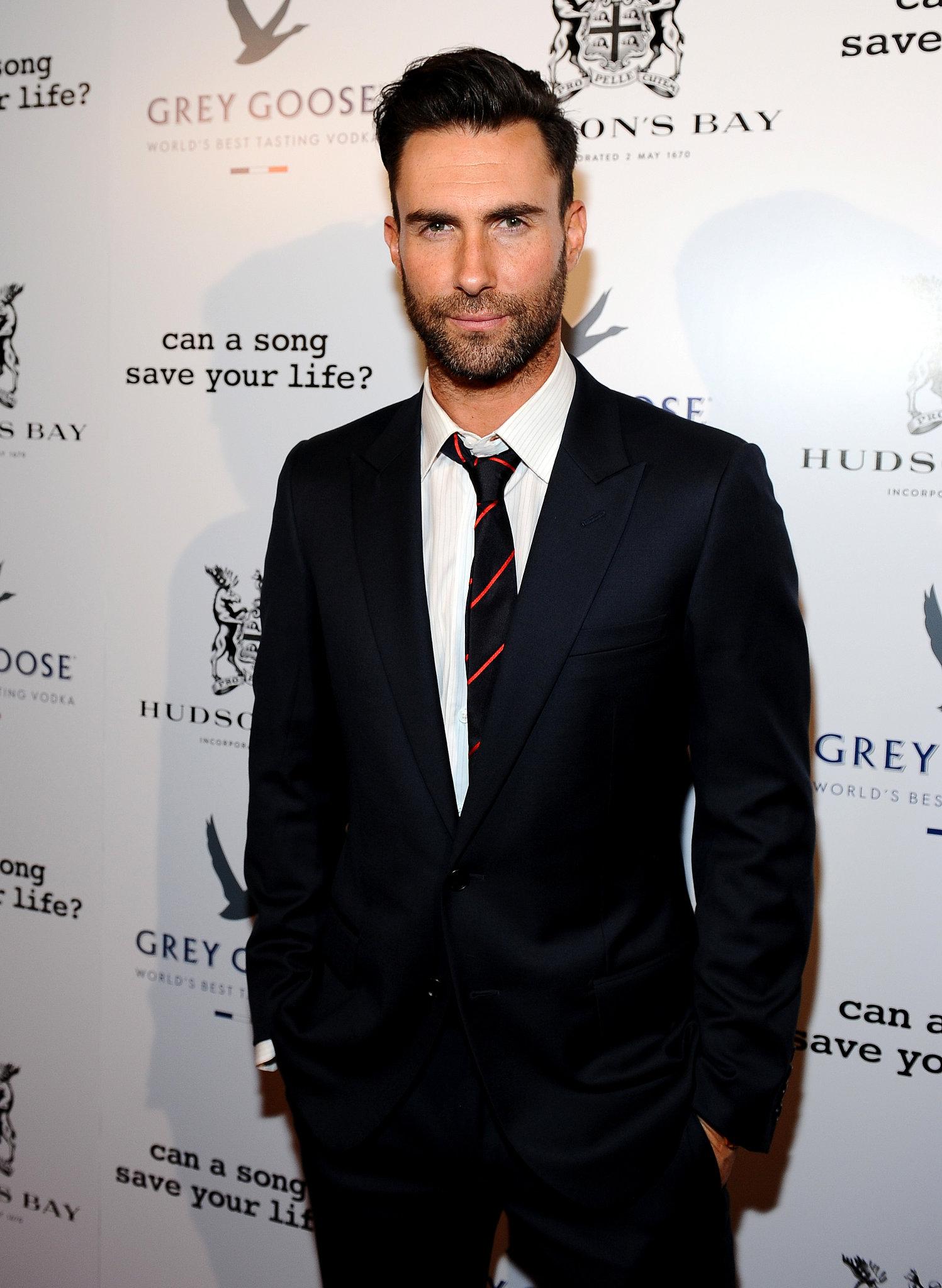 Adam Levine: The Rock-Star Beard
