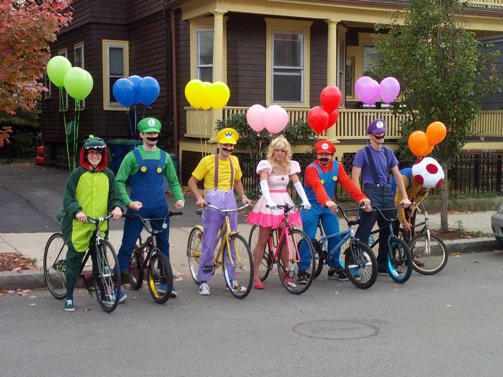Mario and Gang