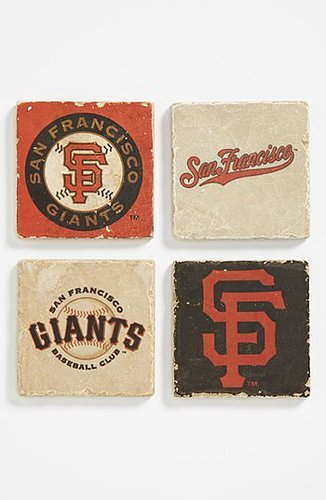 'San Francisco Giants' Marble Coasters (Set of 4)