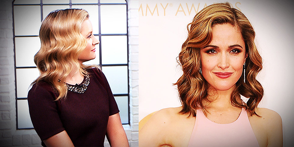 How to Master Rose Byrne's Disco Waves (Straight From Her Stylist!)