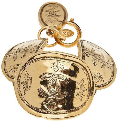 Chanel Vintage oval coin bracelet
