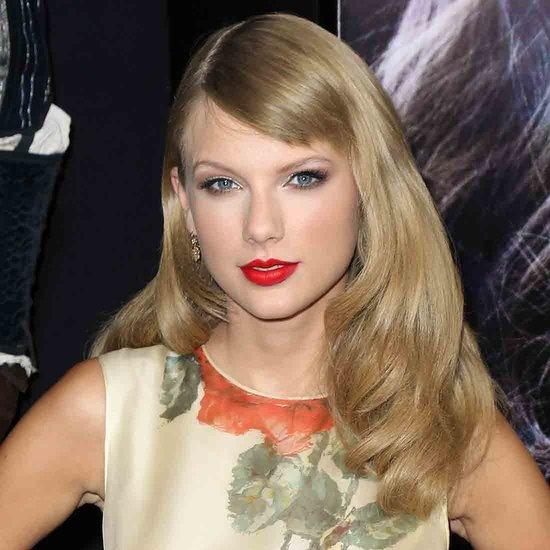 Taylor Swift Side-Swept Fringe