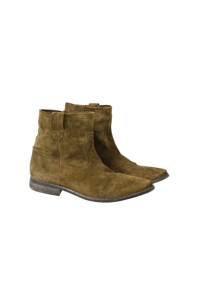 Suede Boots ($199) Photo courtesy of H&M