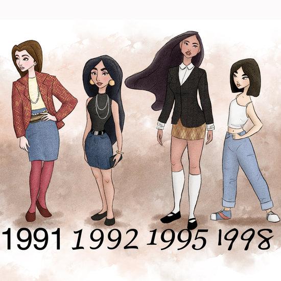 '90s Jasmine?! Disney Princesses Dressed by Year