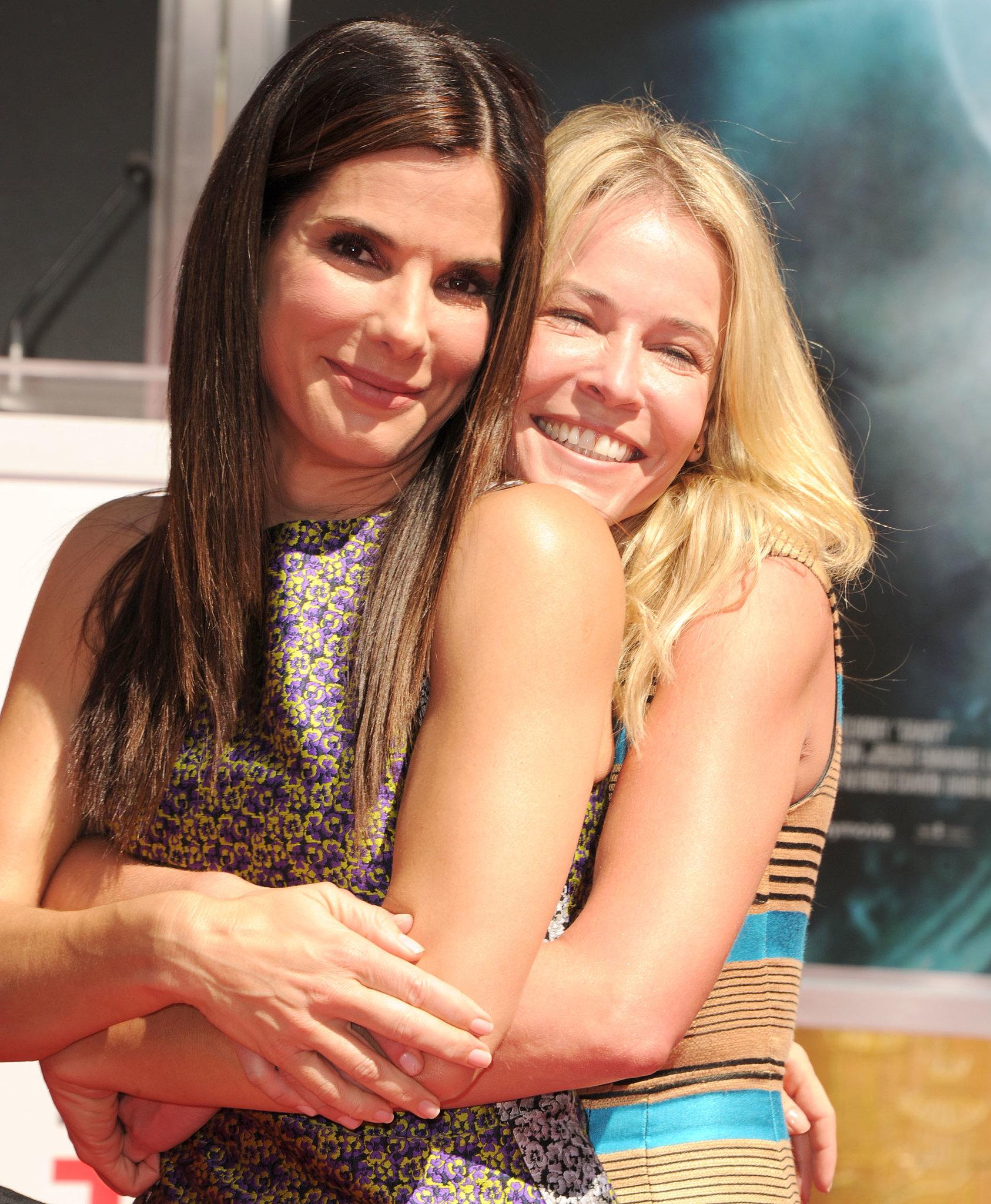 Chelsea Handler attended the benchmark event in support of Sandra Bullock.