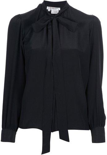 Yves Saint Laurent Vintage pussy bow blouse