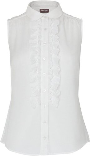 Phase Eight Charlotte ruffle front blouse