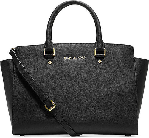 MICHAEL Michael Kors Handbag, Selma Large East West Satchel