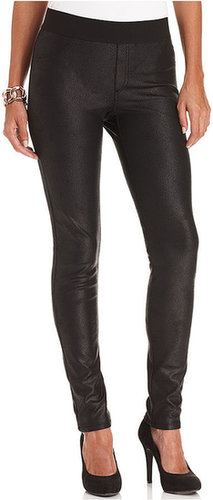 Karen Kane Pants, Faux-Leather Leggings
