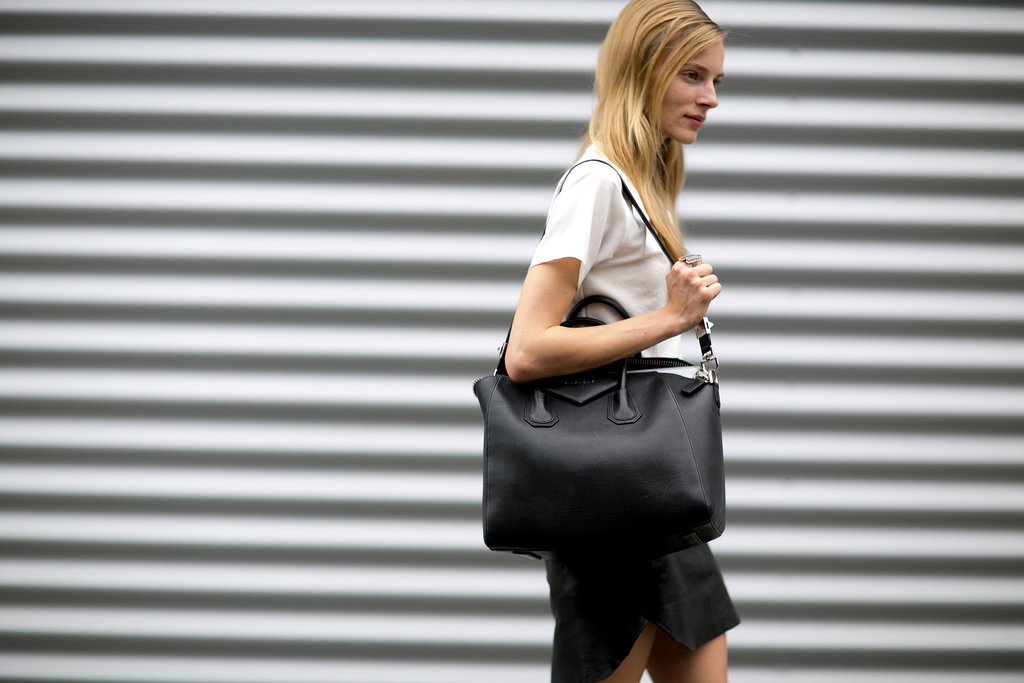 Toting a Givenchy always adds luxe to a look.