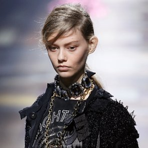 Lanvin Spring 2014 Hair and Makeup   Runway Pictures