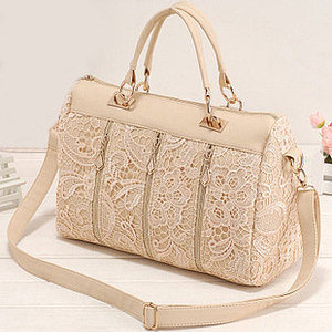 Image of Unique Lace Handbag Shoulder Bag