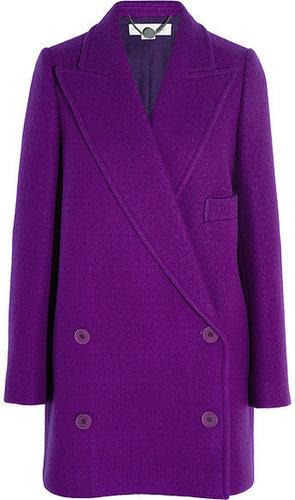 Stella McCartney Manteau en laine à double boutonnage Edith