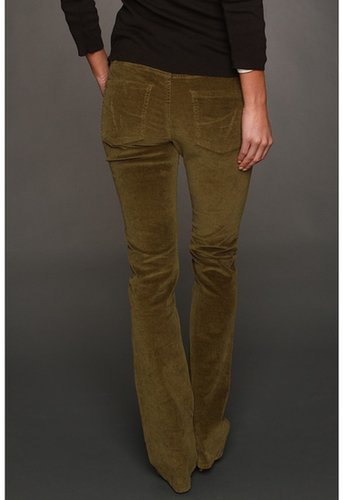 Jag Jeans - Trudie Slim Boot Corduroy in Tarragon (Tarragon) - Apparel
