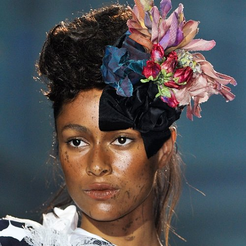 Vivienne Westwood Spring 2014 Hair and Makeup | Runway