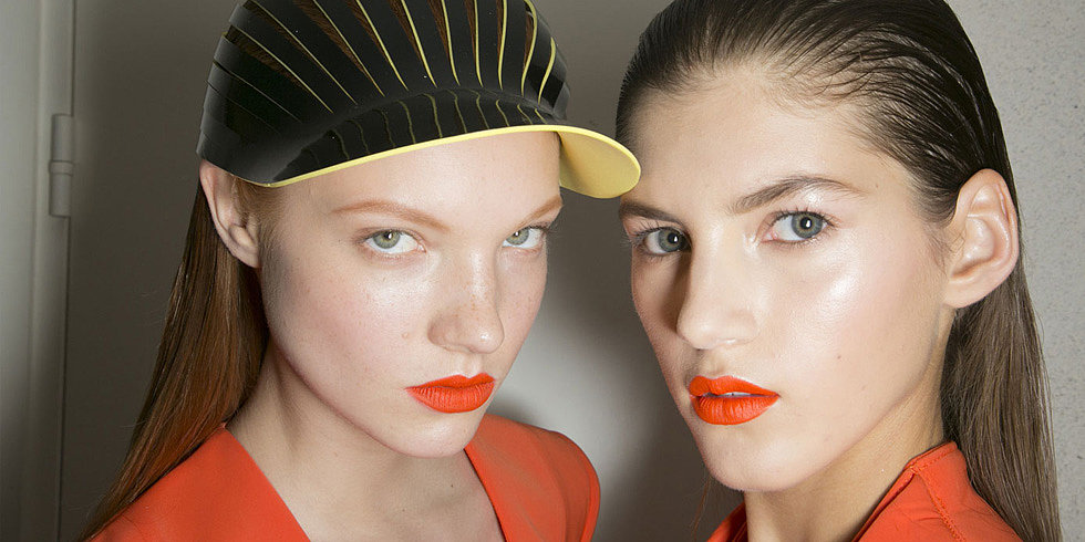 Lipstick Goes Sporty at John Galliano