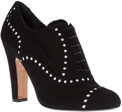 T & F Slack Shoemakers London lace up shoe boot