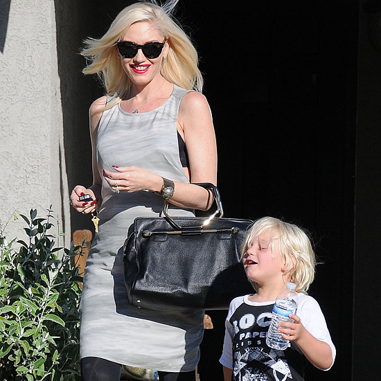 Gwen Stefani and Zuma at a Baby Shower in LA