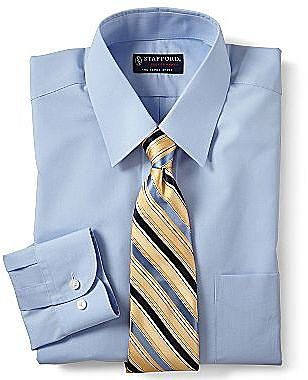 Stafford® Performance Broadcloth Dress Shirt