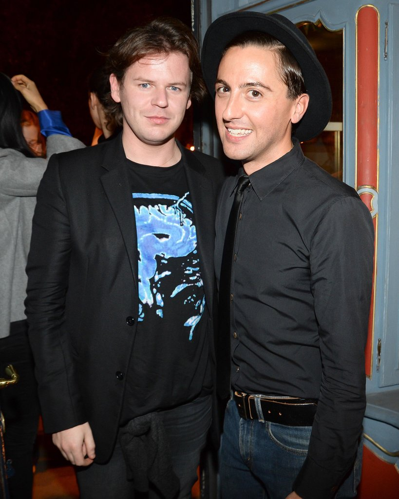 Christopher Kane joined Eddie Borgo at his Paris Fashion Week dinner.