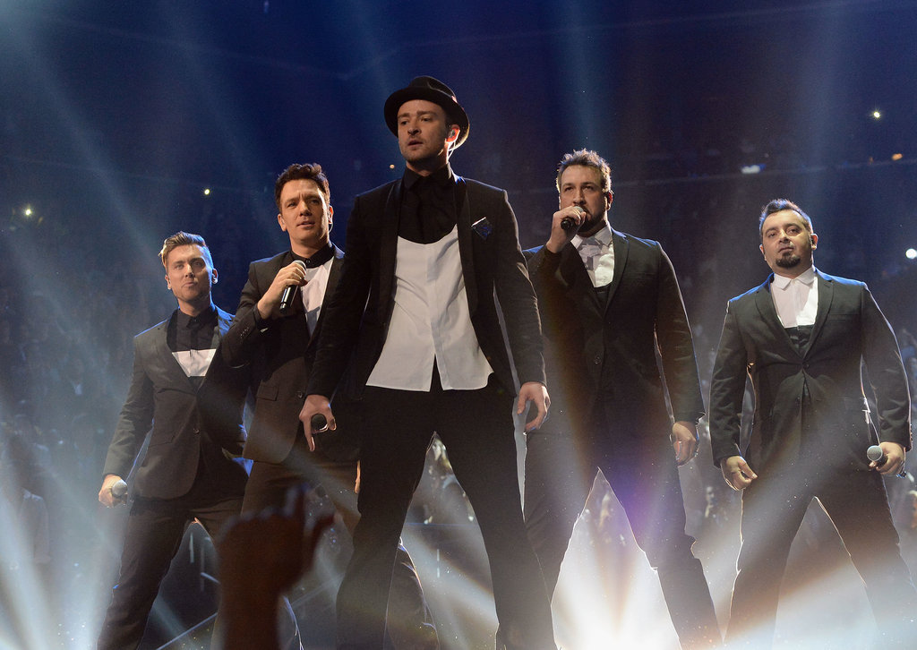 And the most buzzed-about moment from Justin Timberlake's epic VMAs night? He melted the hearts of '90s fangirls everywhere, reuniting with his *NSYNC bandmates for a quick medley performance.