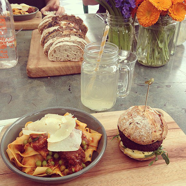 Bean Supreme has so many delicious all-vegetarian foods to try! Source: Instagram user popsugarau