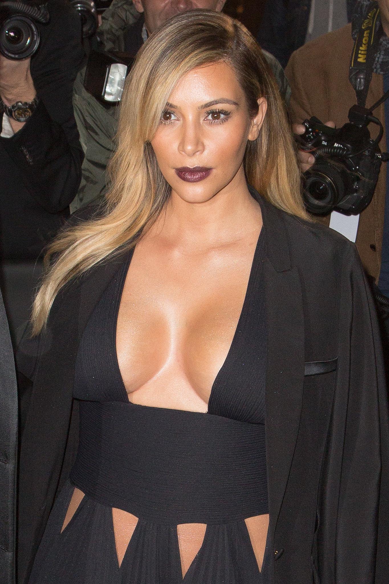 Kim Kardashian at the Mademoiselle C Cocktail Party